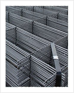 Black Iron Welded Wire Mesh Panel